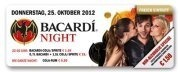 Bacardi Night Donnerstag