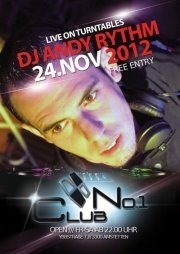 No1 Club presents DJ Andy Rythminsomnia After Party