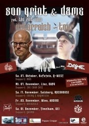 Hip Hop - Austrias Finest: Son Griot  Dame feat. The Riot Sons Support: Yasmo