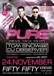 Pure - Tom Snow b2b DJ Observer
