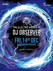 Club Fusion pres.: The Electric Monkeys & DJ Observer