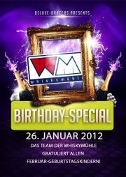 Birthday Special Januar Geburtstagskinder