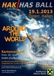 BHAK-BHAS Krems Ball - Around the world 2013