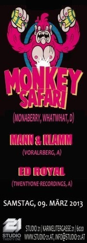 Monkey Safari (Monaberry, Whatwhat,D)
