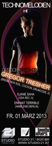 Technomelodien mit Gregor Tresher (Break New Soil, Cocoon, Drumcode, D)