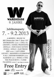  Warehouse - 9 - Jahre