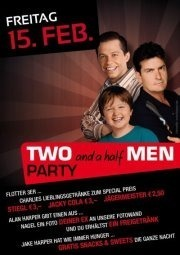 Two and a half Men Party