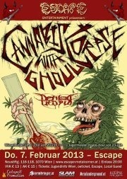 Cannabis Corpse, Ghoul & Defiled Utopia