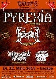 Pyrexia / Beheaded / Unfathomable Ruination / Among Rats