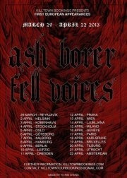Ash  Borer (us) + Fell Voices (us) + A Story Of Rats (us) + Bird People (us)