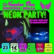Neon Party mit Led-Brillen