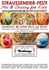 Strausseneier-Fest! Art & Charity for Kids