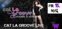 Cat La Groove live (Vocals & Violine)