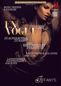 En Vogue - the wednesday RNB & House Mash Up Club