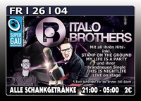 Italobrothers Live on Stage