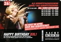Happy Birthday XXL ::: April & Mai