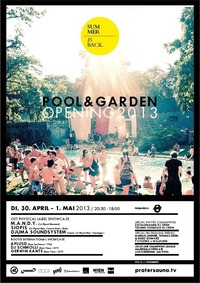 Pool & Garden Opening - 2days/1night + CL Halbfinale ScreeningBBQ