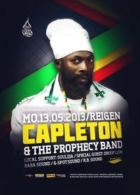 Capleton & The Prophecy Band