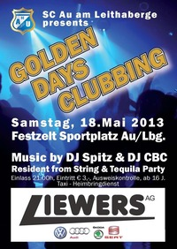 Golden Days Clubbing