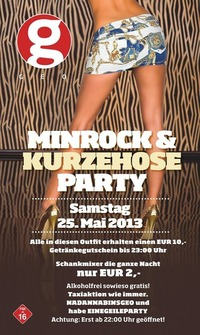 Minirock & Kurzehose Party