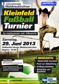 3. internationales Waldneukirchner Hobbyturnier