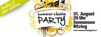Summer Closing Party 2013 - 5 Jahr Jubiläum@Sonnensee Ritzing