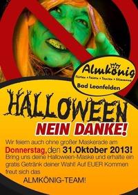 Halloween - Nein Danke