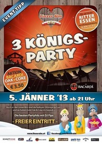 3 König - Party
