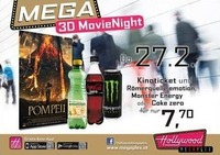 Mega 3D MovieNight: Pompeii