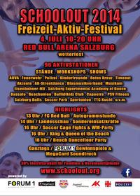 Schoolout 2014 - größtes Freizeit-Aktiv-Festival Salzburgs