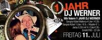 1 Jahr DJ Werner