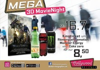 Mega 3D MovieNight: Transformers