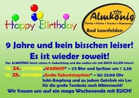 Happy Birthday - Almkönig