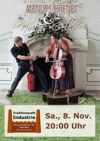 Manuel Hafner & Nadjas Cello im Industrie!
