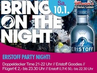 Bring on the Night - Eristoff Partynight