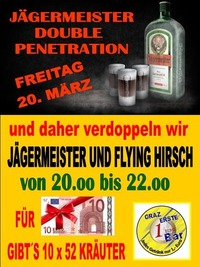 Jägermeister Double Penetration