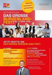 Das große Burgenlandfest@Mezo Messezentrum Oberwart