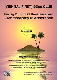 90ies Club @ Donauinselfest - Aftershowparty @ Weberknecht!