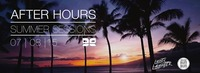 AfterHours - Summer Sessions