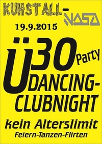 Ü30 Party Dancing - Clubnight mit DJ Showtime