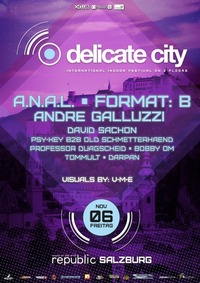 Delicate City - International Highlight Clubbing on 2 Floors