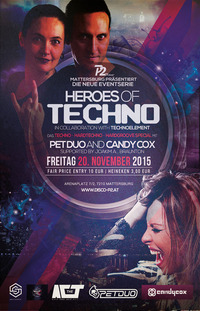 Heroes of Techno <> Pet Duo & Candy Cox