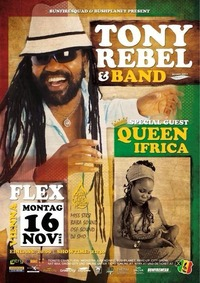 Tony Rebel  Queen Ifrica & Band