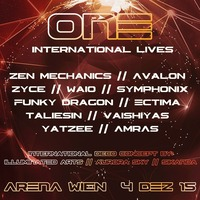 """ONE"" – International Electronic Music & Art Experience@Arena Wien"