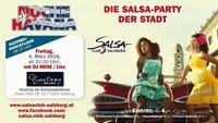 NOCHE HAVANA 4.3.2016 die Salsa Party der Stadt SALSA CLUB SALZBURG@Nestroy im Schauspielhaus