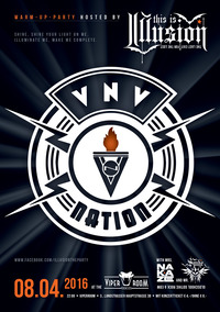 VNV Nation warm-up Party