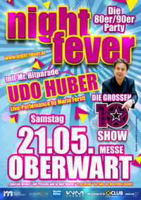 80er90er Party mit UDO HUBER | Messe Oberwart