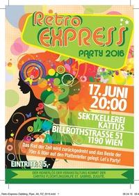 Rotary Club Wien-Nestroy: Retro Express Charity Party