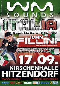 WM-SOUNDS ITALIA mit Star-DJ Ivan Fillini