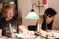 BilderBücherBühne #28 w/Elias Hirschl, Tereza Hossa, El Awadalla@Die Drahtwarenhandlung